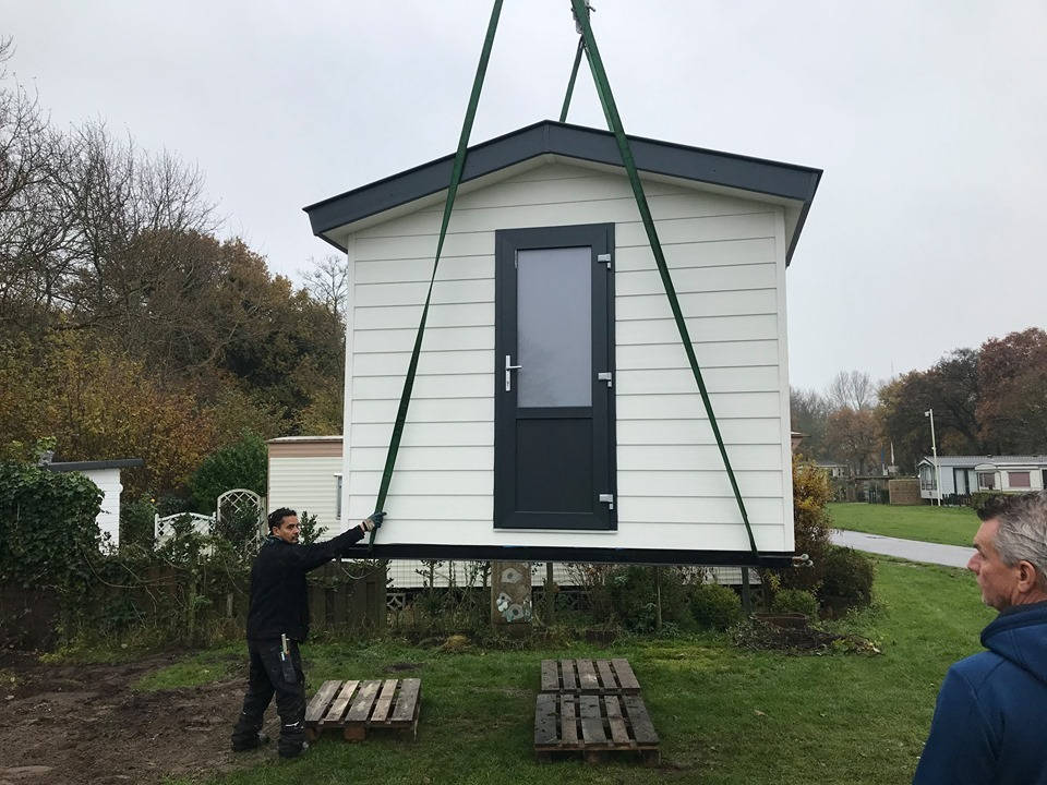 schuurtjes en tuinhuisjes van chaletbouw Goeree